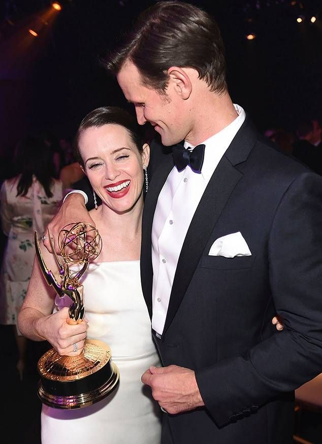 Claire Foy & Matt Smith from Emmys 2018: Fotos del After-Party